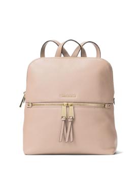 Michael Kors Rhea Medium Slim Backpack Soft Pink b09b8f09be6