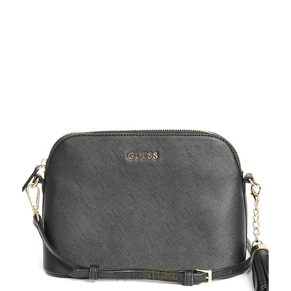 GUESS Scarlet Embossed Crossbody Black 00c7de2f4b9