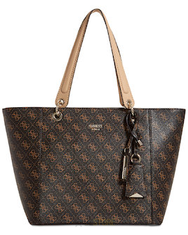 e22e5fc6fa GUESS Kabelka Kamryn Extra-Large Tote Brown