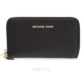 Michael Kors Jet Set Travel Large Smartphone Peněženka Black d42e9de0e75